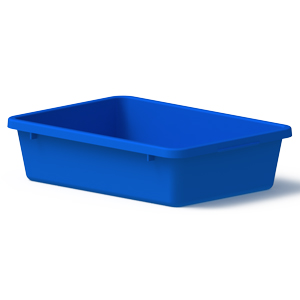 Okka 22 Litre Nesting Crate Plastic Containers AP5
