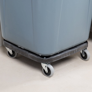 Rubbermaid Square Brte with Dolly