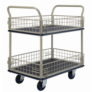 Prestar NF327 2 Tier Trolley with Removable Mesh Sides