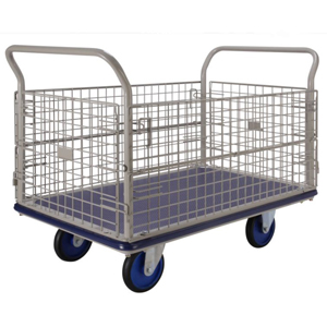 Prestar Large Caged Trolley with Folding Mesh Sides - NG407