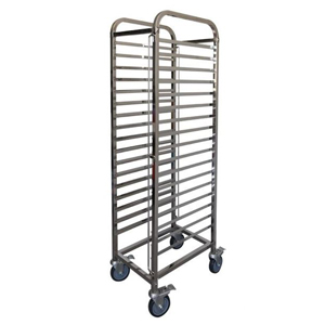 Mantova 1/1 Gastronorm Trolley Stainelss Steel Tube