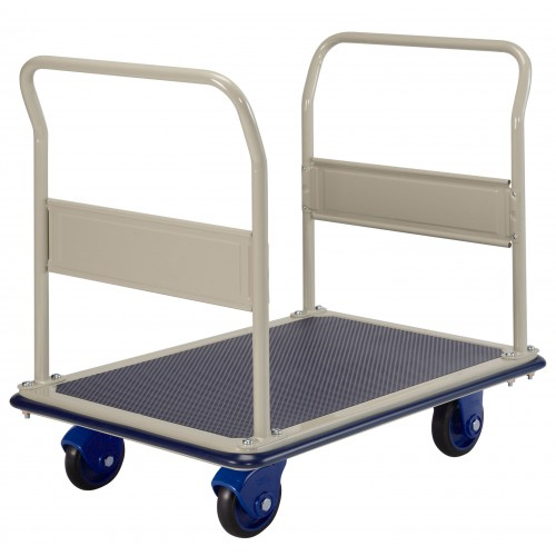 Prestar NF303 Double Push Rail Platform Flat Bed Trolley