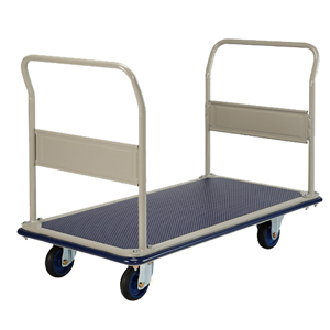 Prestar Dual Handle Large Platform Trolley 300kg