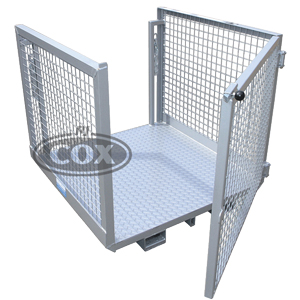 Order Picking Safety Cage Forklift with Gate WP-OPG