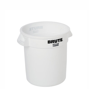 Rubbermaid Non-Vented Brute Round Containers & Accessories