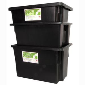 Okka EnviroCrate Stack & Nest Crates Plastic Containers