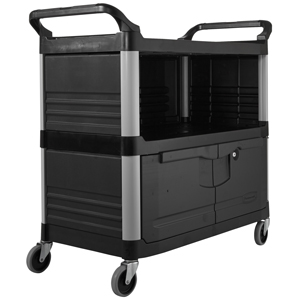 Rubbermaid Equipment Cart Xtra Enclosed and Lockable