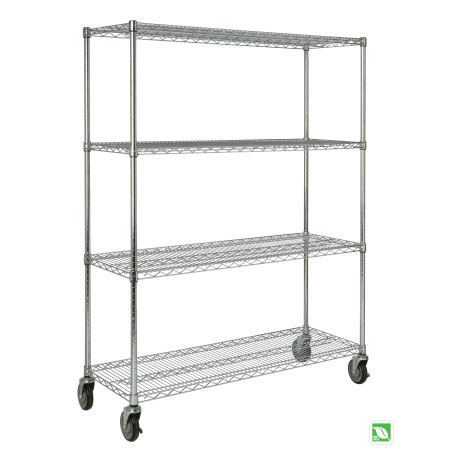 Rubbermaid ProSave Rack Cart for Shelf Ingredient Bins