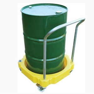 Polyethylene Single Drum Dolly with Handle