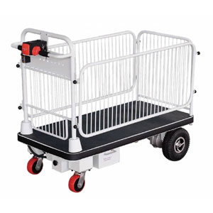 Powered Platform Trolley 500kg - Available with or without cage