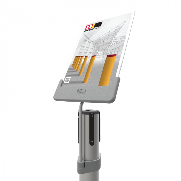 Neata A4 Sign Holder - Post Mount