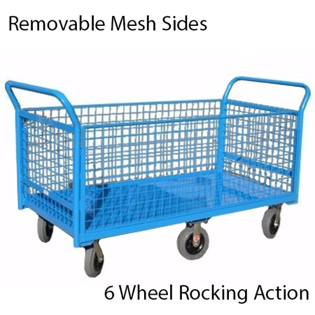 Removable Mesh Sided Trolley