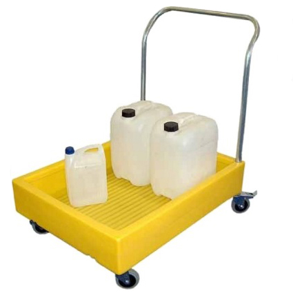 Bunded Spill Containment Trolley with 100 Litre Capacity