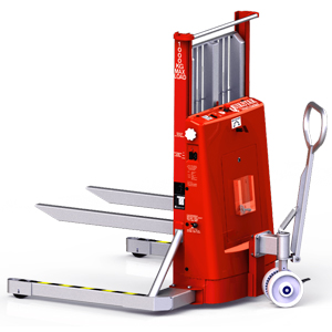 Quikstak A1010 Smart Stacker 1000kg self levelling pallet stacker