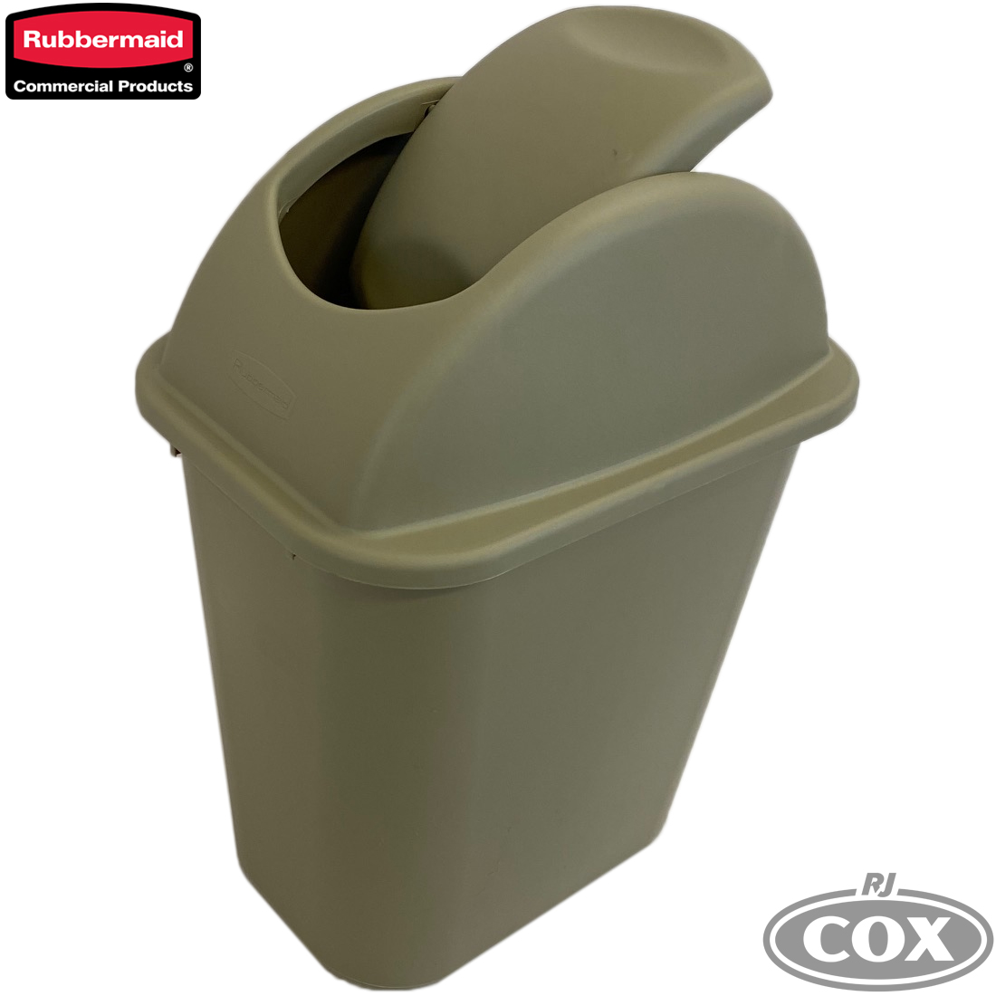 Rubbermaid Untouchable Swing Top Waste Bin 26.6L
