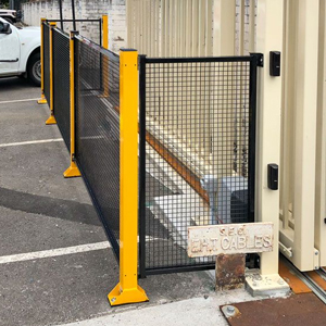 Single De-fence 1260mm high Modular Safety Guarding System