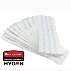 Rubbermaid HYGEN Disposable Microfiber Wet Mop Pad 150/Case
