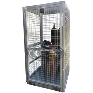 Gas Cylinder Storage Cage for Cranes