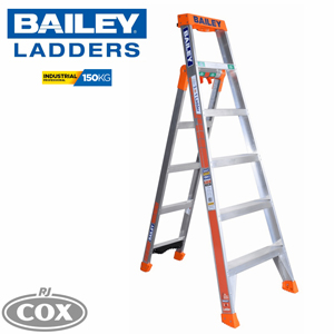 Bailey Aluminium Step/Leaning/Straight (SLS) 3 in 1 Ladder