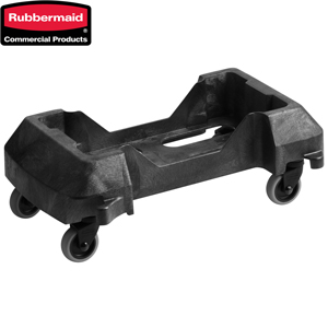 Rubbermaid Slim Jim Trainable Resin Dollys