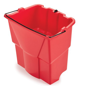 Rubbermaid 9C74 Dirty Water Bucket - RED