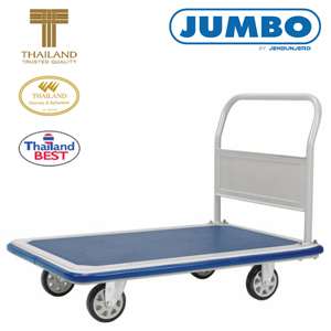 Jumbo Fixed Handle Platform Trolley Large 650kg Platform