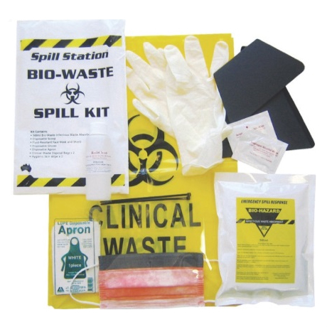 Biohazard Spill Control Kit Pouch