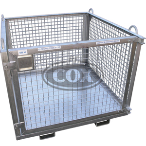 Goods Cage for Cranes or Forklifts