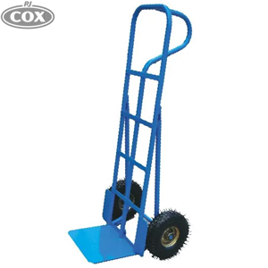 P-Handle Straight Back Hand Truck