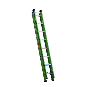 Bailey FSXN with pole support V Rung Fibreglass Extension Ladders