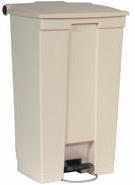 Rubbermaid 6146 Mobile Step-On Container