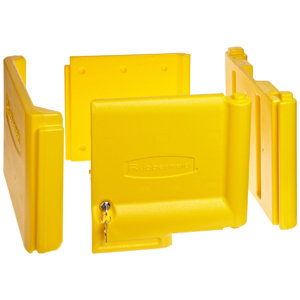 Rubbermaid Locking Cabinet Door Kit - Yellow or Black