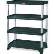 Rubbermaid 9T36 Storage Shelving, 4-Shelf Unit