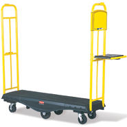 Rubbermaid 9T50 StockMate Restocking Truck, Standard Deck