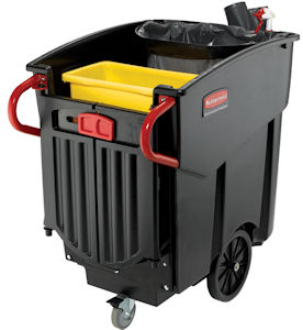 Rubbermaid 9W73 Mega BRUTE Mobile Collector Cart