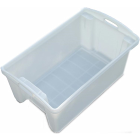 Fish Crate No 12 Stack & Nest Container Solid