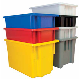 Stack and Nest Crates Storage Containers - Food Grade