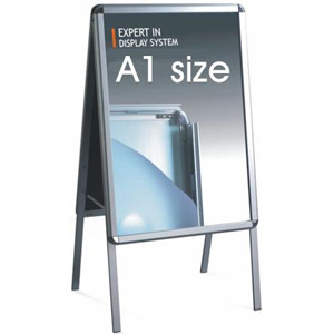 Double Sided A1 Aluminium Outdoor Poster Display Frame