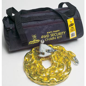 Black Rat Security Chain Kit Complete with Lock