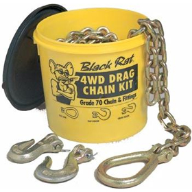 Black Rat 4WD Grade 70 Combo Drag Chain Kit