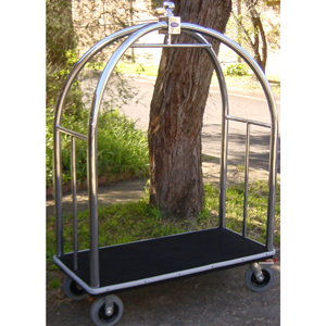 extra Large Birdcage Trolley Luggage Cart