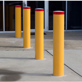 Heavy Duty Round Bollards Galvanised or Powder coated