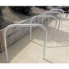 Bike Rail Below Ground- Large - Bike Rack