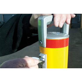 Cam-lok Surface Mount Removable Bollard