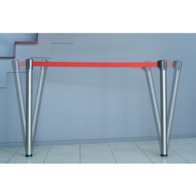 Neata In-Floor Flexible Retractable Belt Barrier