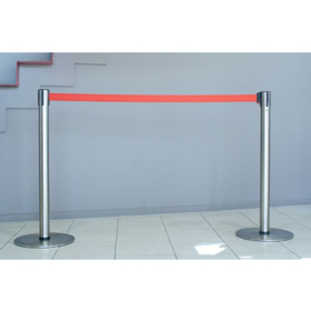 Neata Slimline Portable Retractable Belt Barrier