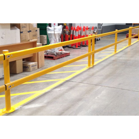 Post & Rail Modular Barrier System