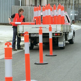 T-Top Bollards for Safety and Traffic Control