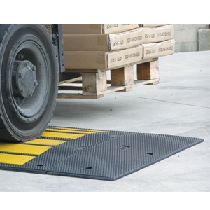 Traffic Calming Rubber Speed Hump