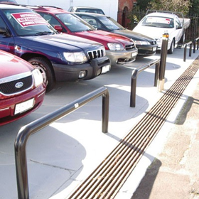 Heavy Duty U-bars Safety Barriers
